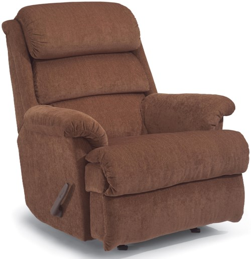 Flexsteel Accents Yukon Wall Recliner with Power