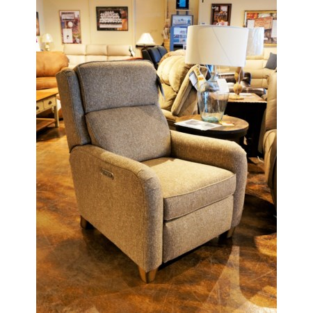 Power High Leg Recliner w/ Power Headrest