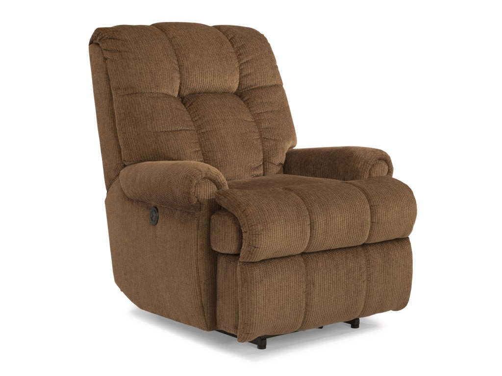 Flexsteel AccentsLarge Recliner with Power