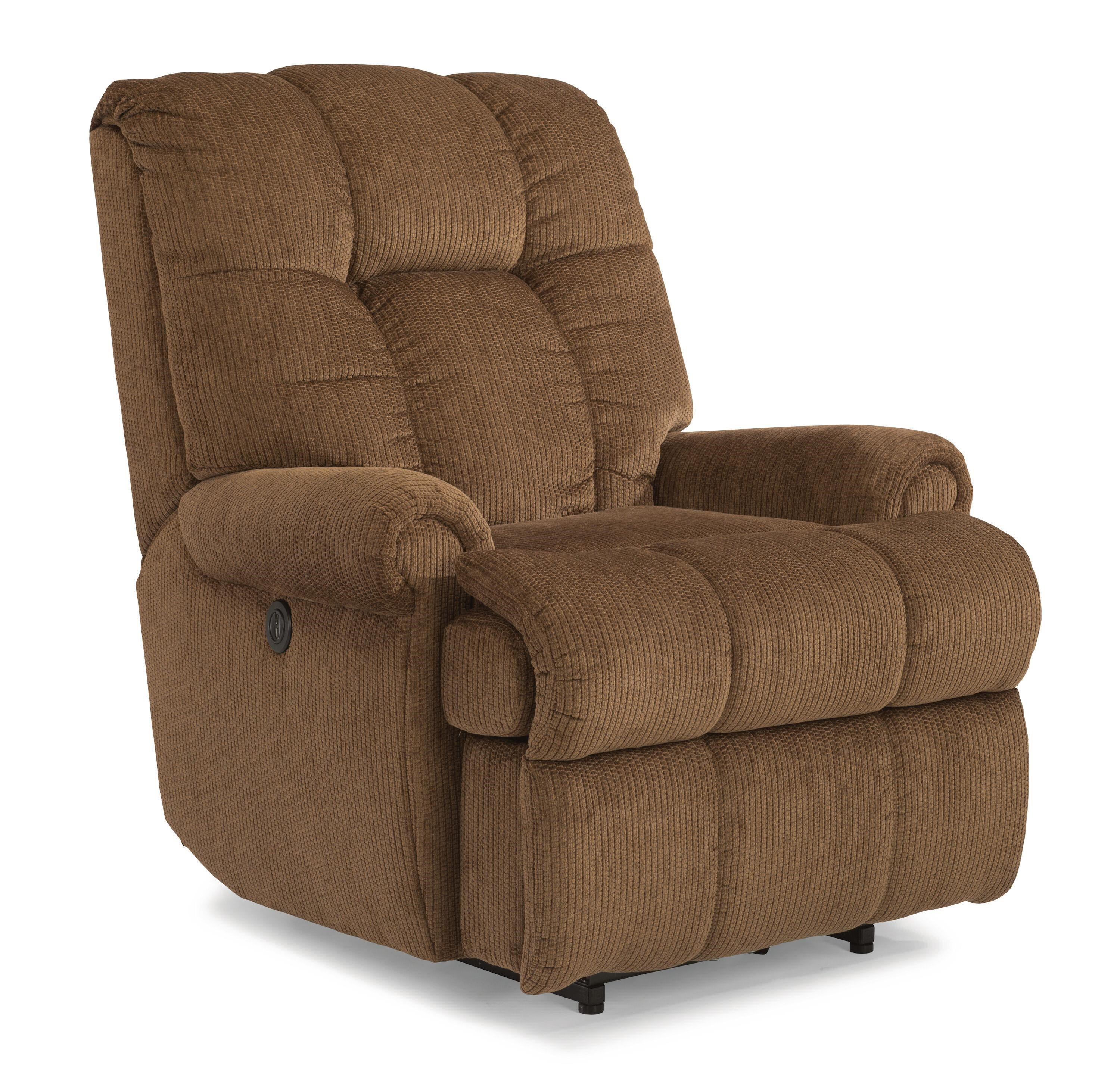 Flexsteel Accents Hercules Large Recliner  sc 1 st  Wayside Furniture : large recliner chairs - Cheerinfomania.Com