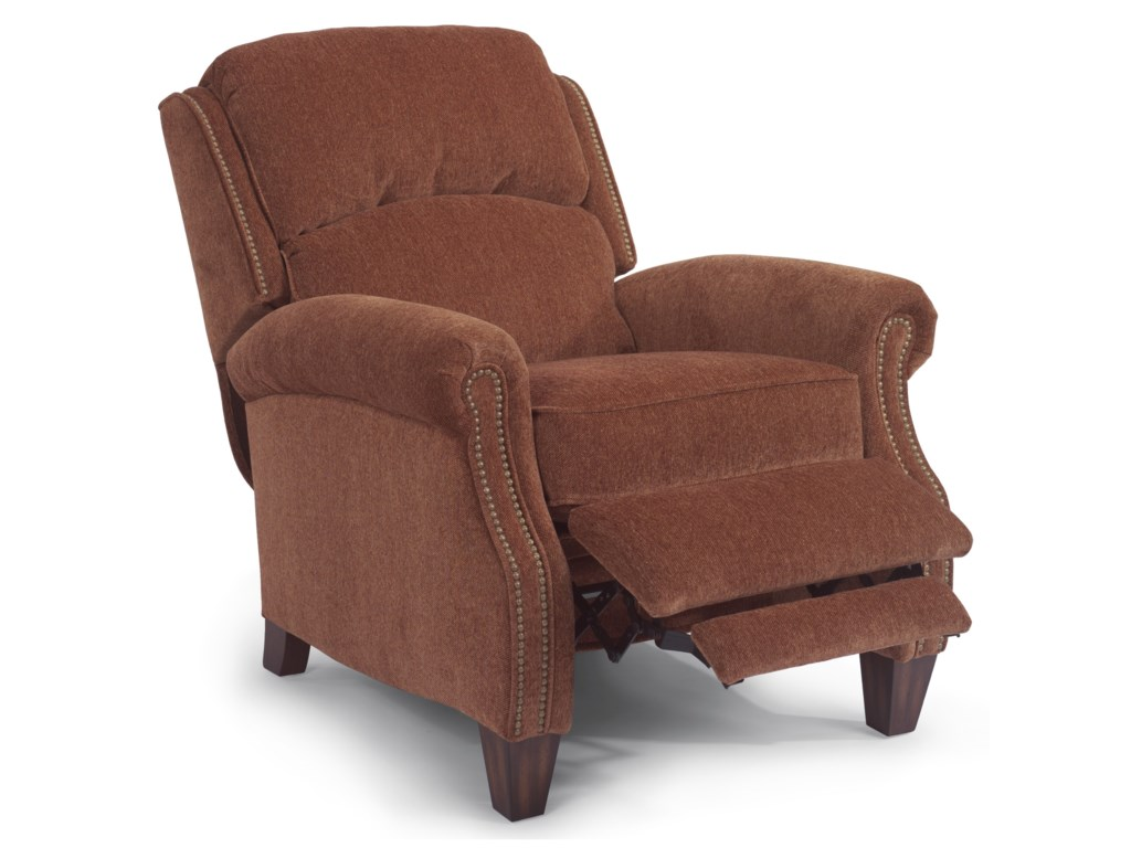 Flexsteel AccentsPower High-Leg Recliner
