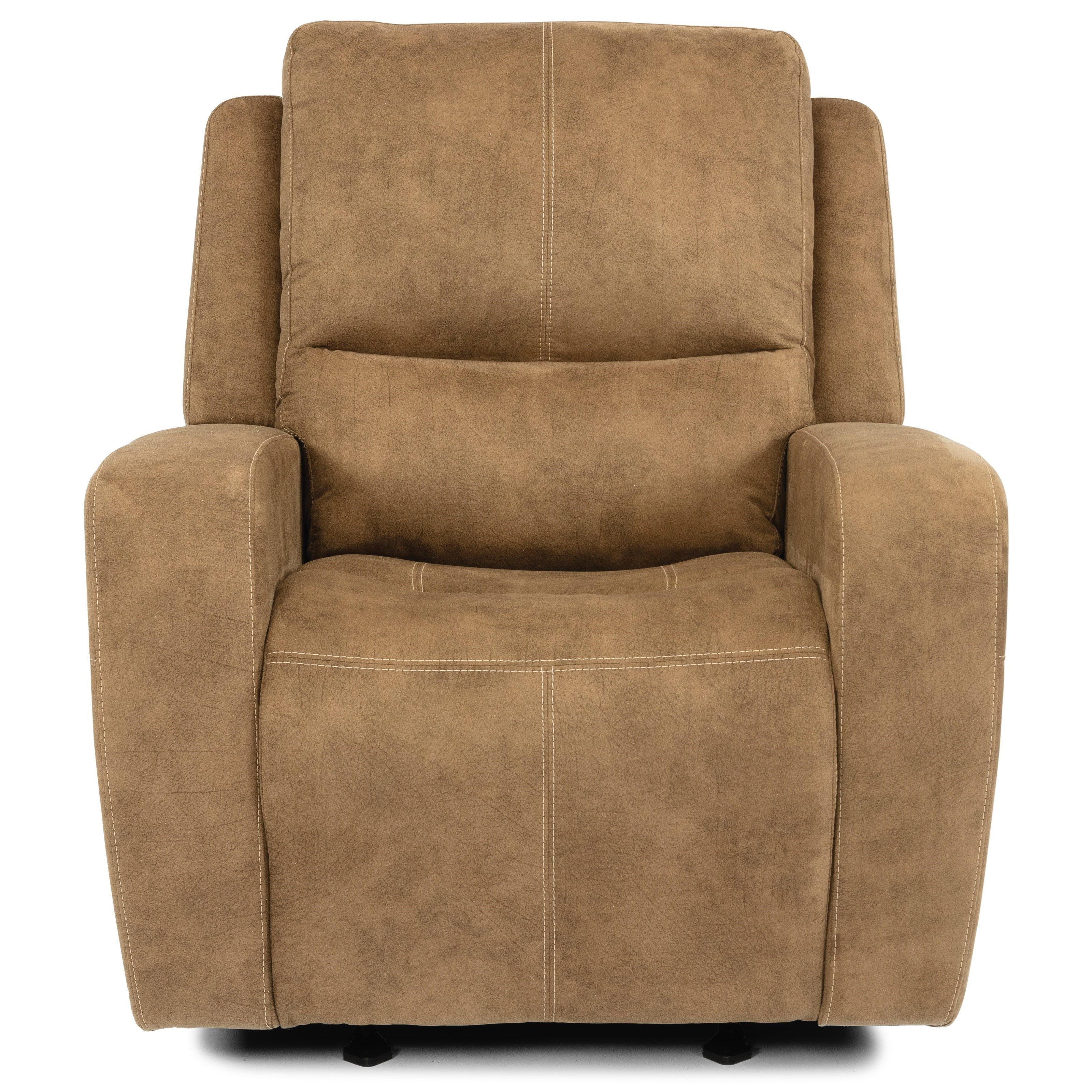 Transitional Power Gliding Recliner with Power Headrest