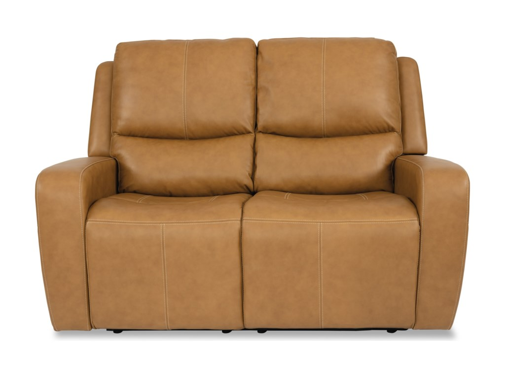 Flexsteel Latitudes - AidenPower Reclining Loveseat