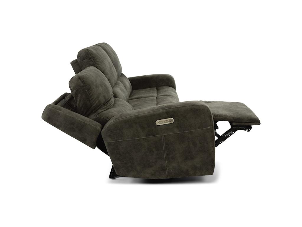 Flexsteel Latitudes - AidenPower Reclining Sofa