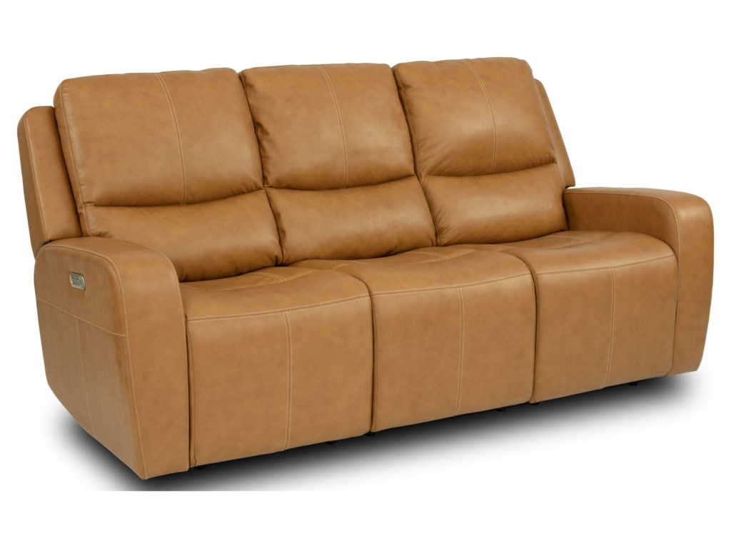 Flexsteel Latitudes - AidenPower Reclining Sofa