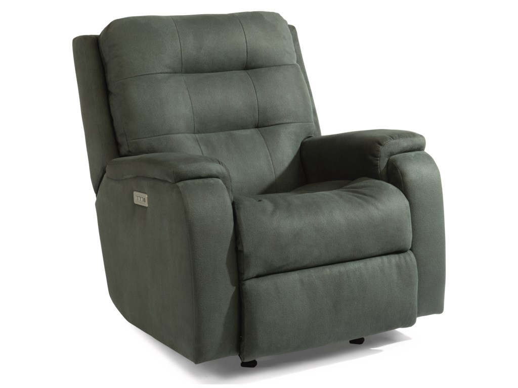 Flexsteel ArloPower Rocking Recliner