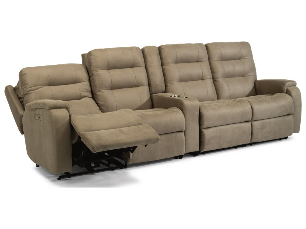Flexsteel Arlo5-Piece Power Reclining Sectional