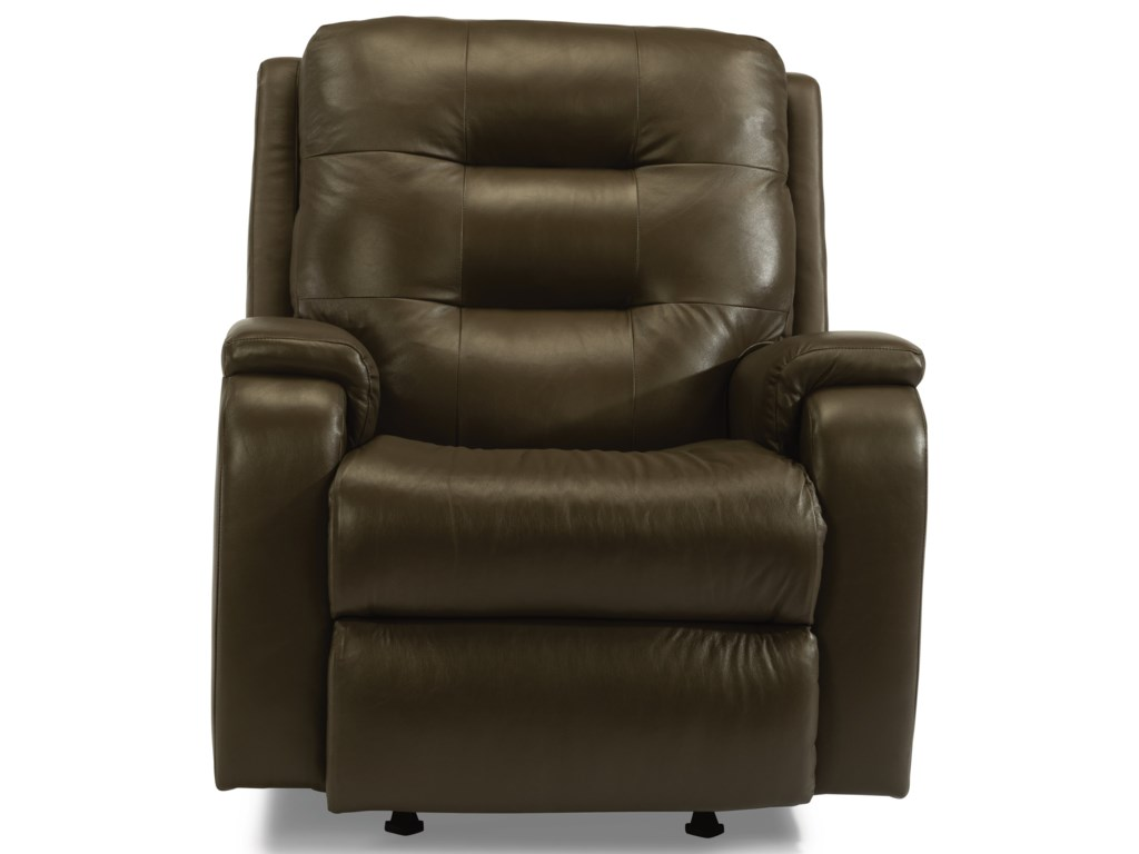 Flexsteel ArloPower Headrest Rocking Recliner