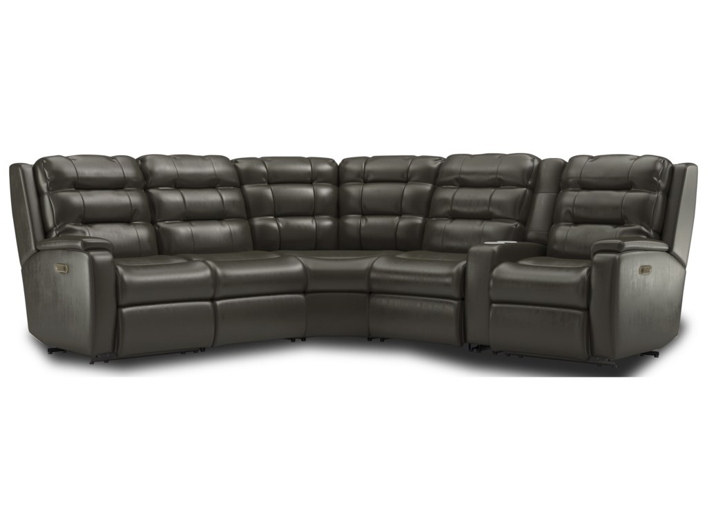 Flexsteel Arlo6-Piece Reclining Sectional