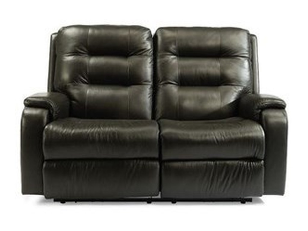 Flexsteel ArloPower Reclining Loveseat