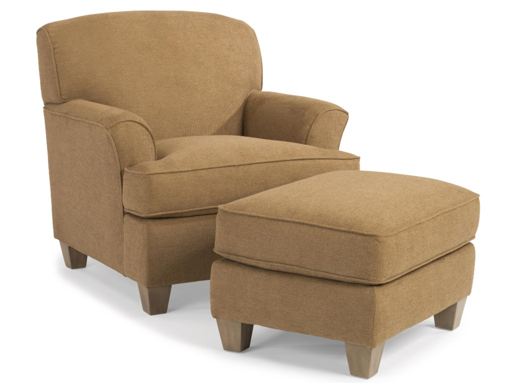 Flexsteel St. AndrewChair and Ottoman