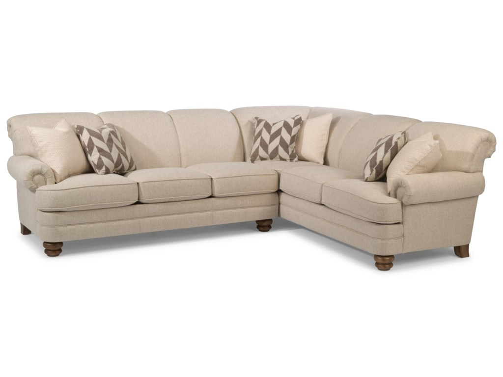 Flexsteel Bay Bridge5 Seat Sectional