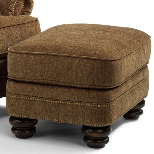 Flexsteel Bay Bridge Traditional Chair Ottoman