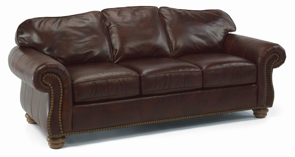 Flexsteel Bexley Traditional Sofa With Nail Head Trim - Wayside