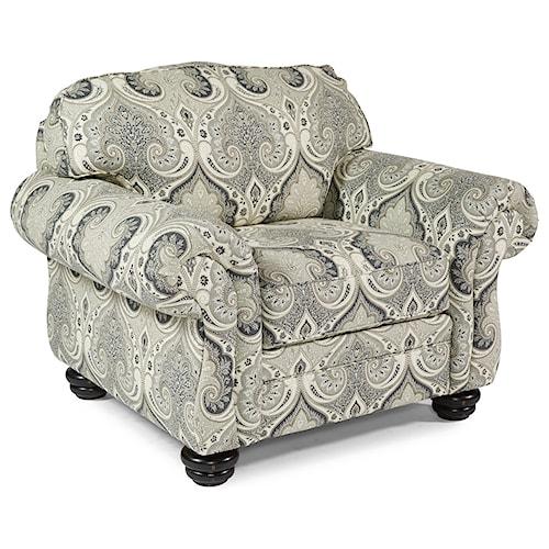 Flexsteel Bexley Traditional Chair