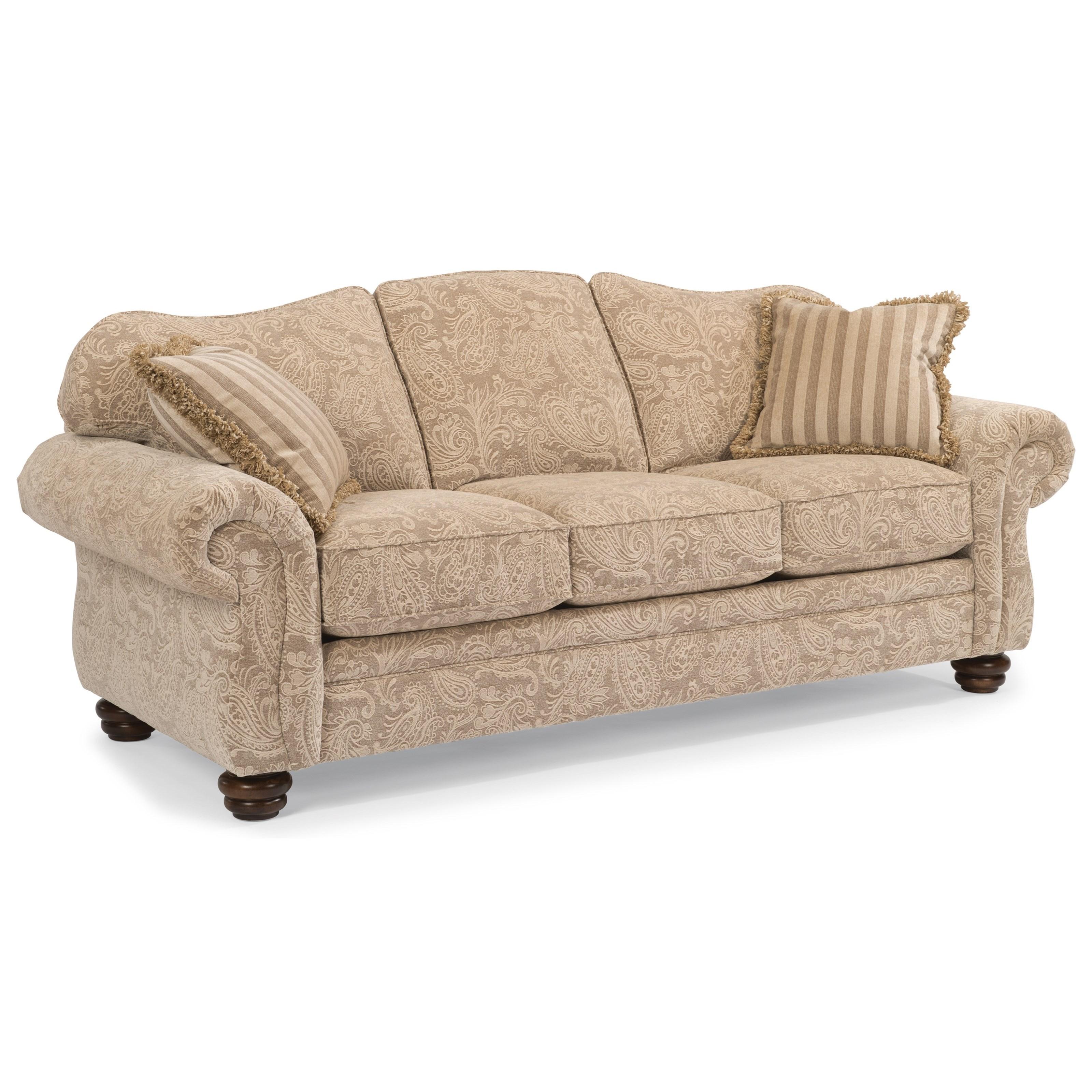 flexsteel bexley 8646 31 traditional sofa furniture and rh furnitureappliancemart com