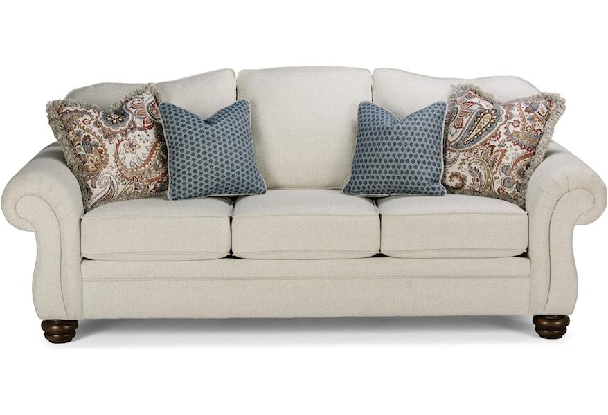 Incredible Bexley Traditional Sofa By Flexsteel At Fisher Home Furnishings Creativecarmelina Interior Chair Design Creativecarmelinacom