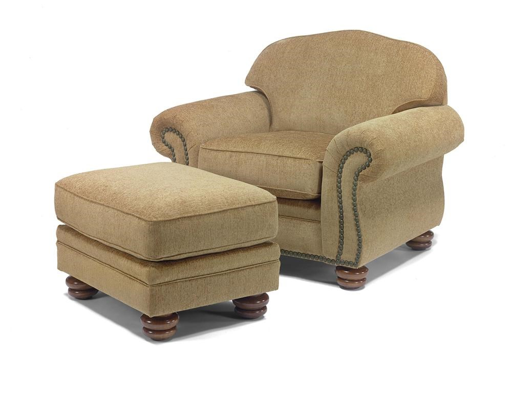 Flexsteel BexleyChair And Ottoman ...