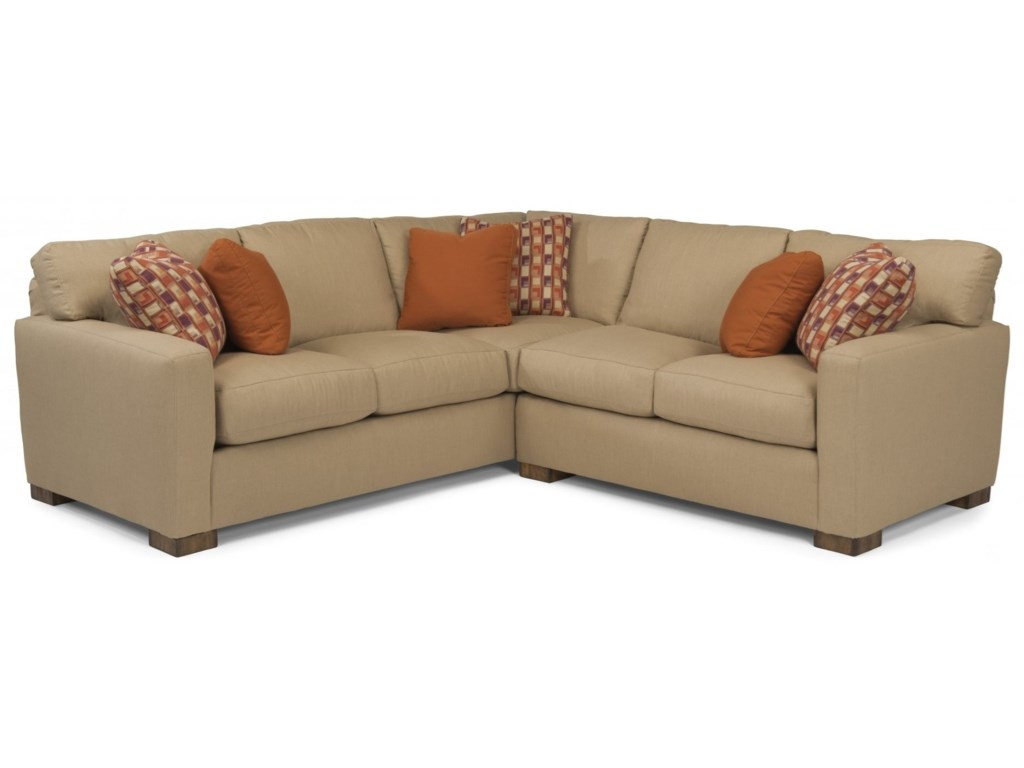 Bryant Contemporary 4 Seat Sectional With Laf Corner Sofa By Flexsteel