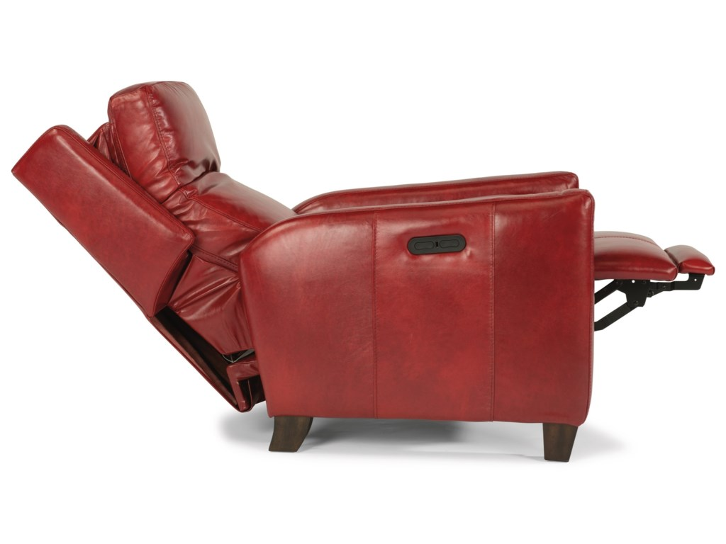 Flexsteel CarlinPower High-Leg Recliner