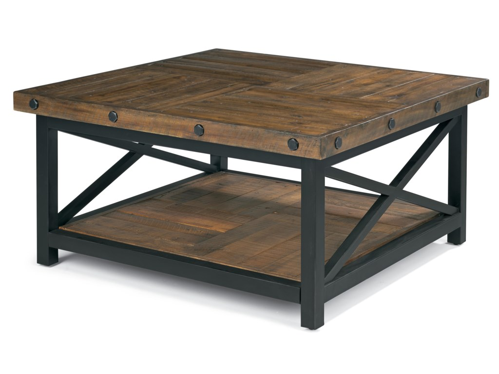 Hammermill Square Tail Table