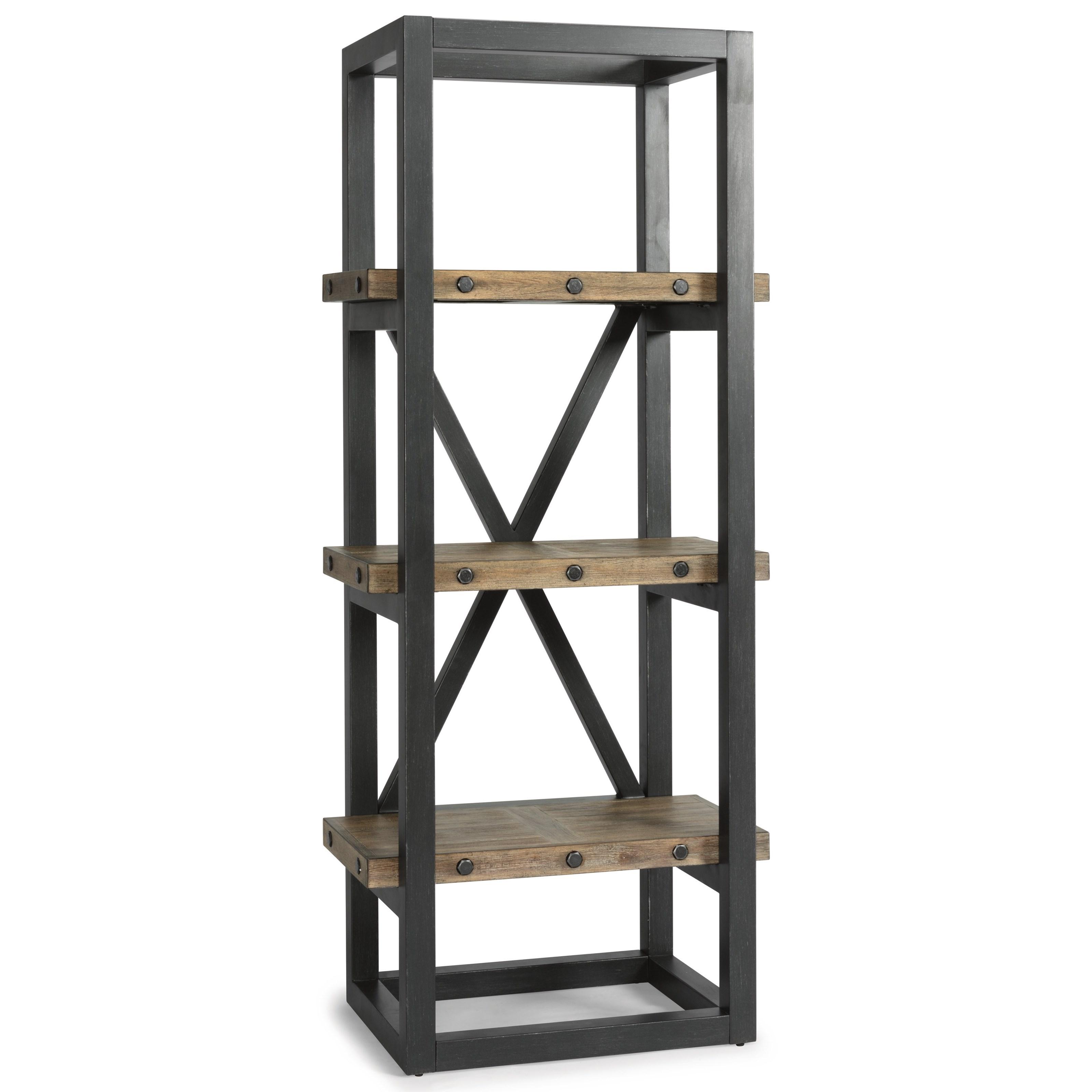 Industrial Side Pier/Bookcase