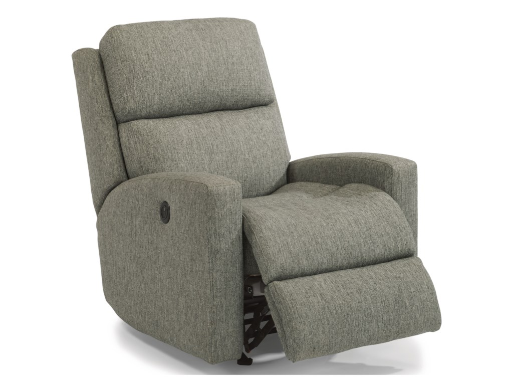 frontroom stanford product flexsteel furnishings recliner recliners power