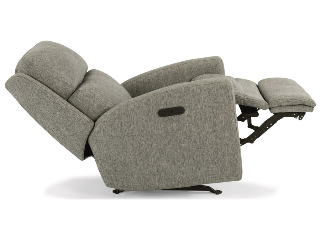 Flexsteel CatalinaPower Rock Recliner w/ Pwr Headrest