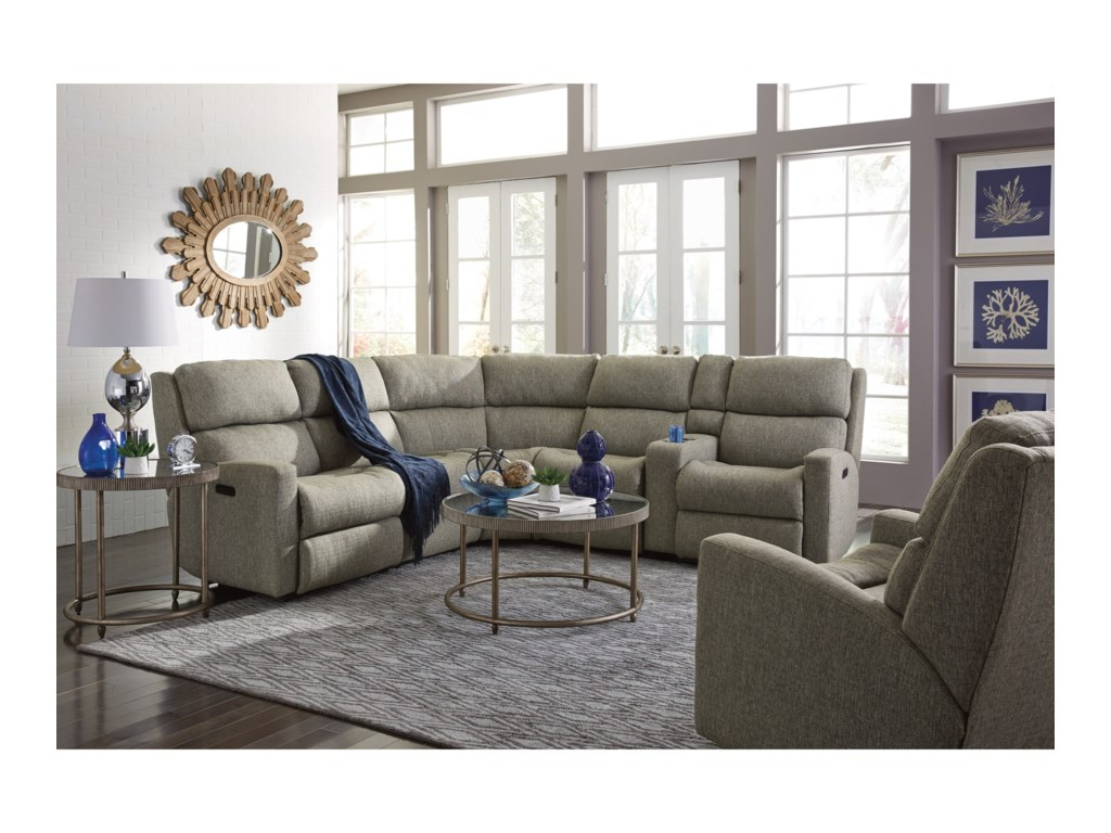 Flexsteel Catalina6 Pc Reclining Sectional Sofa