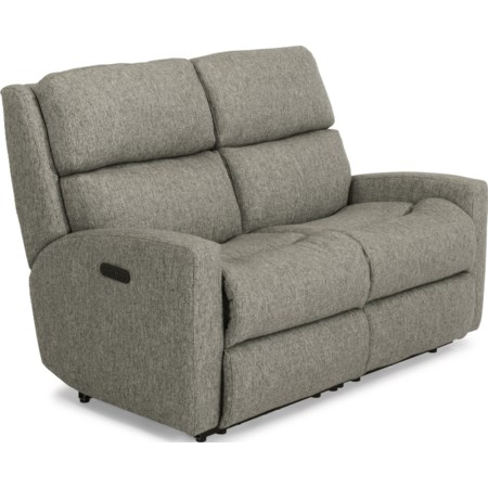 Power Reclining Loveseat w/ Pwr Headrests