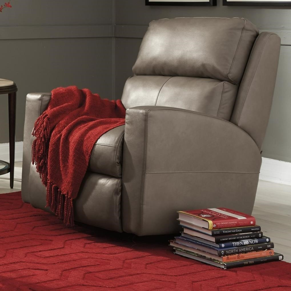 flexsteel catalina power rocking recliner with power headrest and usb port furniture three way recliners