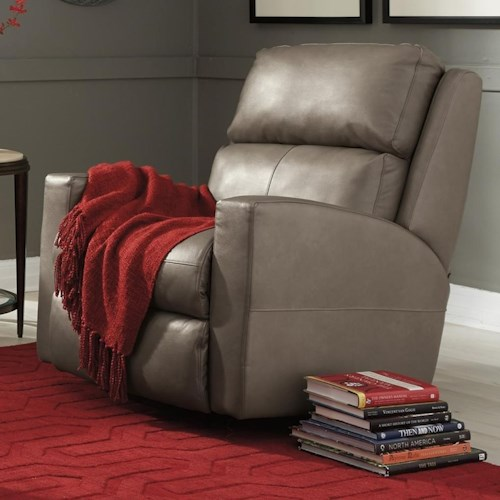 Flexsteel Catalina Contemporary Casual Power Rocking Recliner