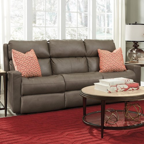 Flexsteel Catalina Contemporary Casual Power Reclining Sofa