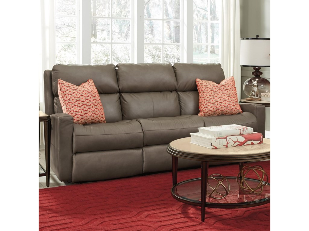 Flexsteel CatalinaPower Reclining Sofa w/ Pwr Headrests