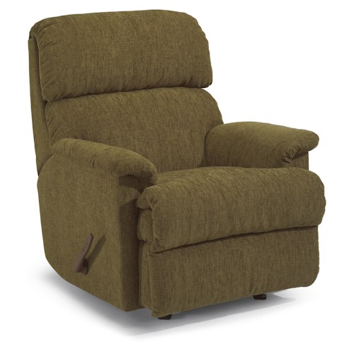 Flexsteel Chicago Casual Power Motion Rocking Recliner