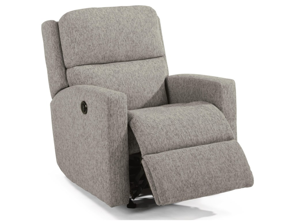 Flexsteel ChipPower Rocking Recliner