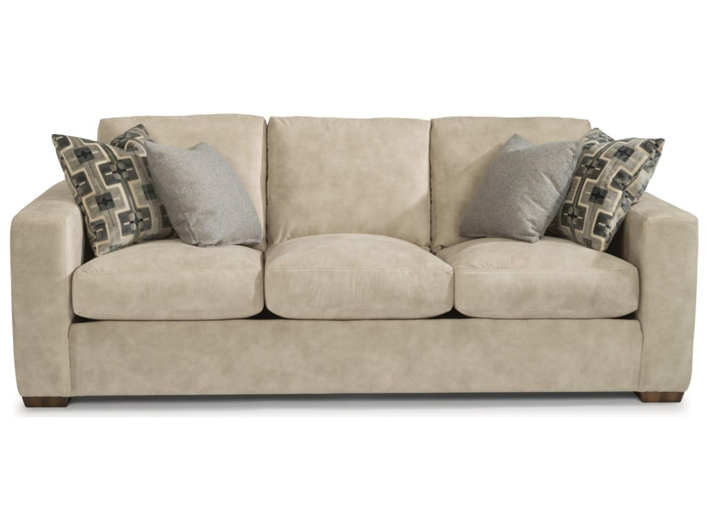 Flexsteel CollinsThree-Cushion Sofa