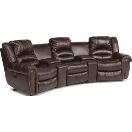 5 Pc Power Reclining Home Theater Group