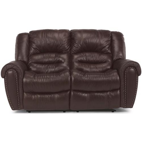 Flexsteel Crosstown Power Reclining Loveseat