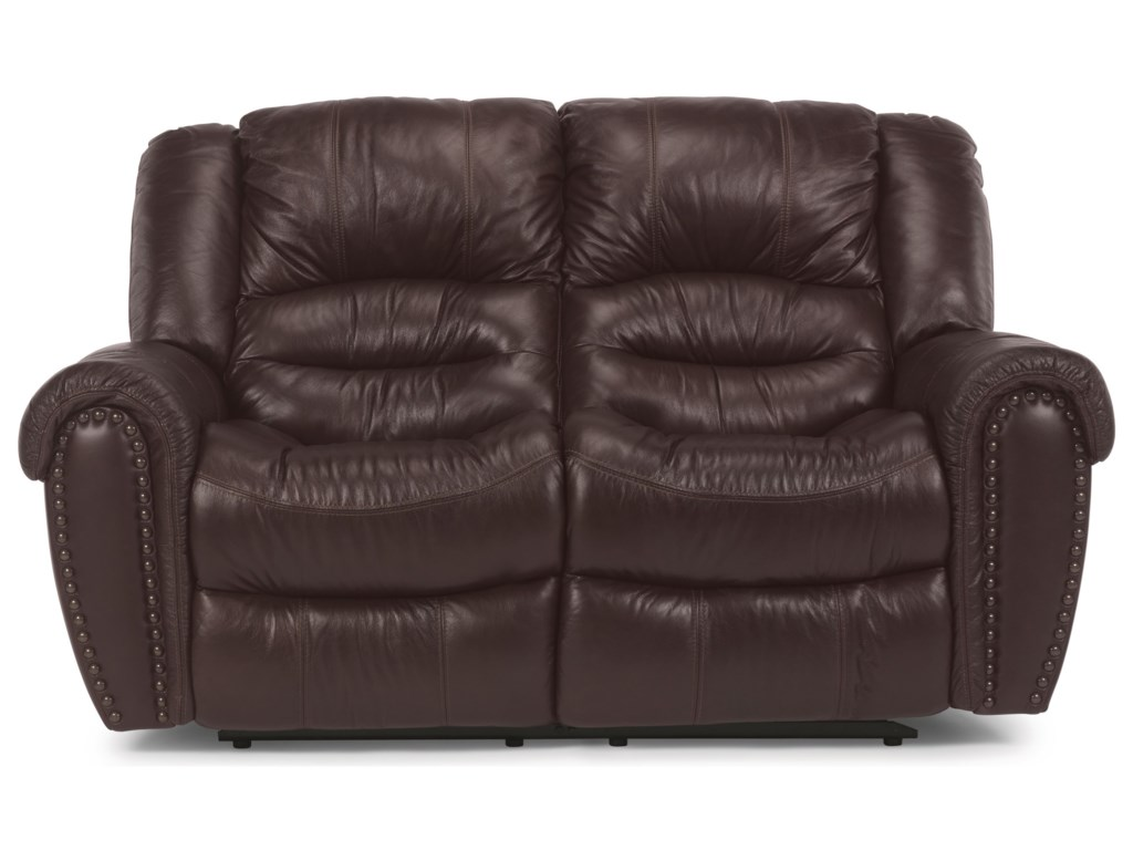Flexsteel CrosstownPower Reclining Love Seat