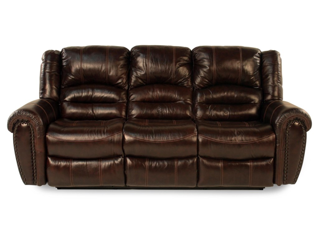 Lancer Leather Reclining Sofa by Flexsteel at Rotmans