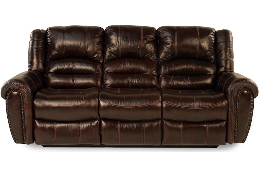 Flexsteel Lancer Leather Reclining Sofa