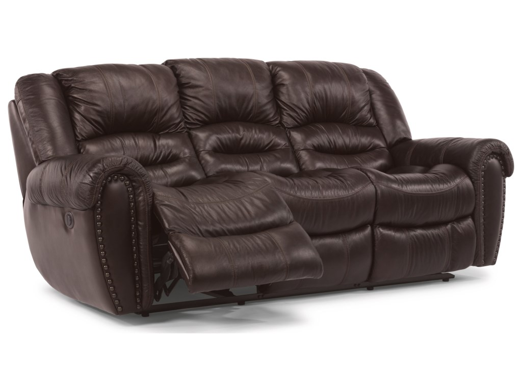 Flexsteel CrosstownReclining Sofa