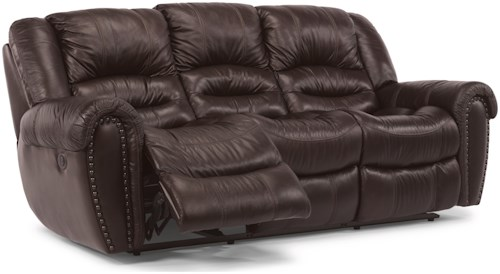 Flexsteel Crosstown Reclining Sofa