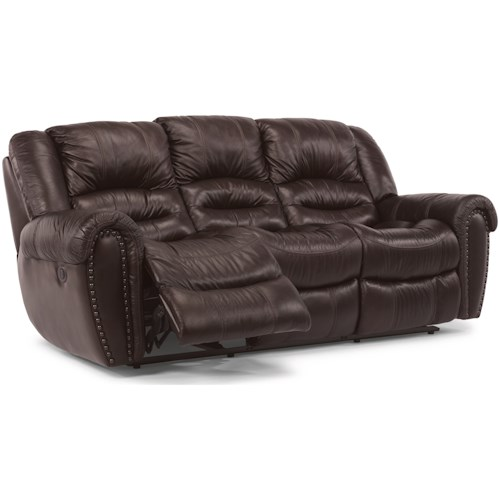 Flexsteel Crosstown Power Reclining Sofa