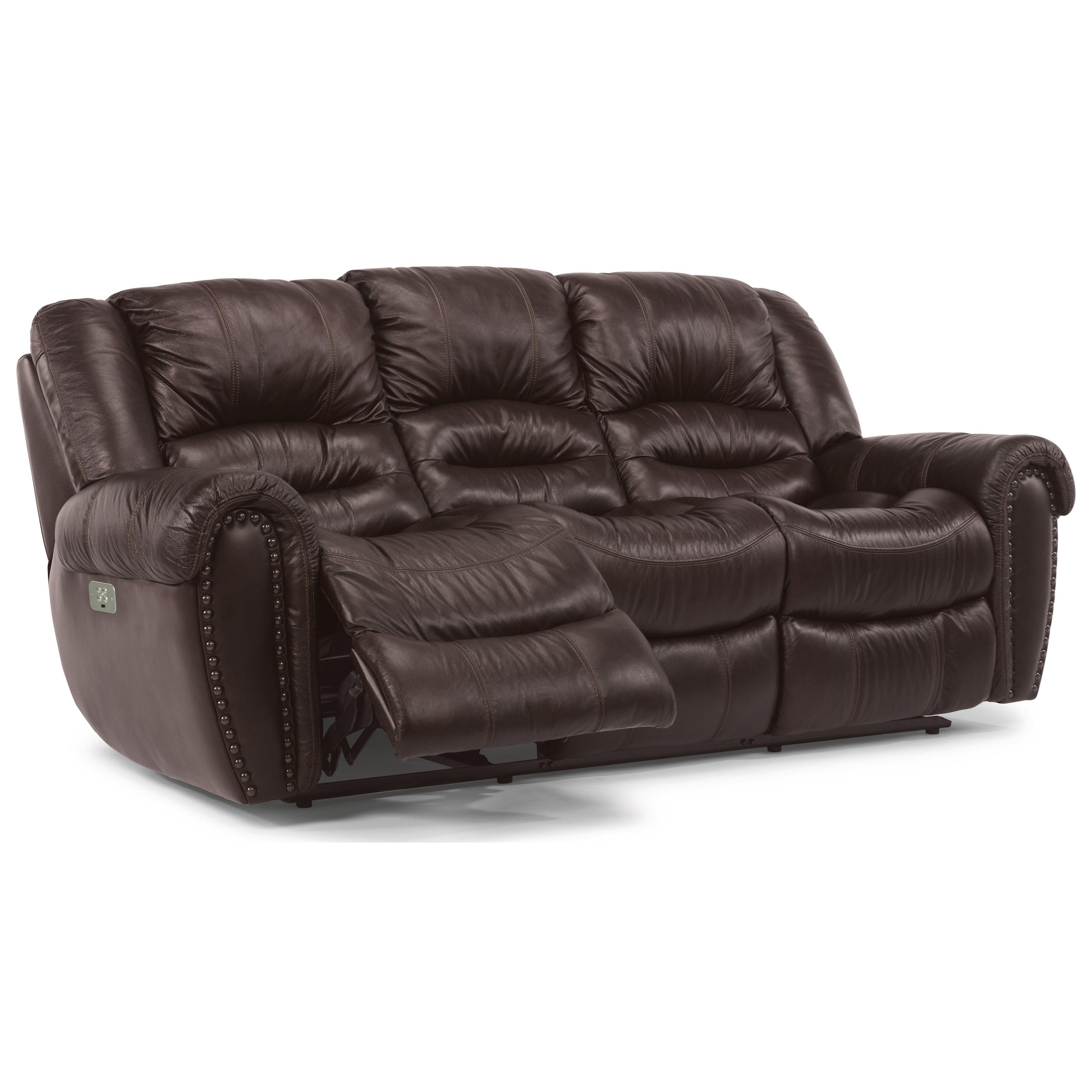 flexsteel crosstown 1210 62ph power reclining sofa with power rh dunkandbright com flexsteel reclining sofa assembly flexsteel reclining sofa reviews