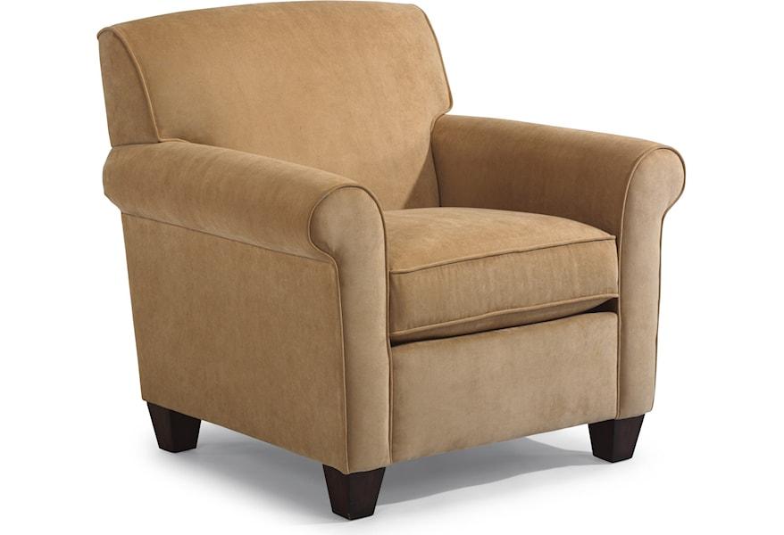 Flexsteel Dana Upholstered Chair Zak S Home Upholstered Chairs