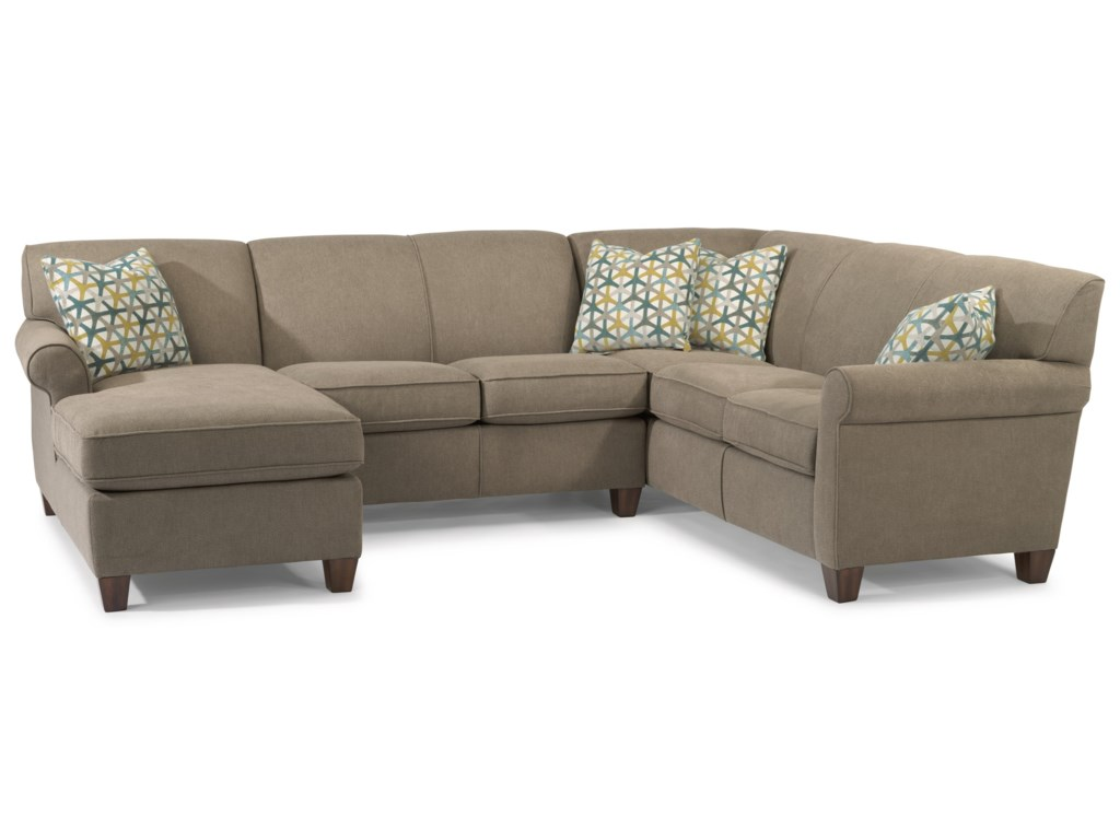Flexsteel Dana3-Piece Sectional