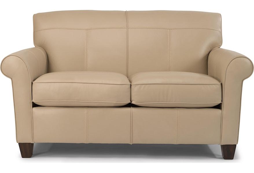 Cool Dana Loveseat By Flexsteel At Dunk Bright Furniture Inzonedesignstudio Interior Chair Design Inzonedesignstudiocom