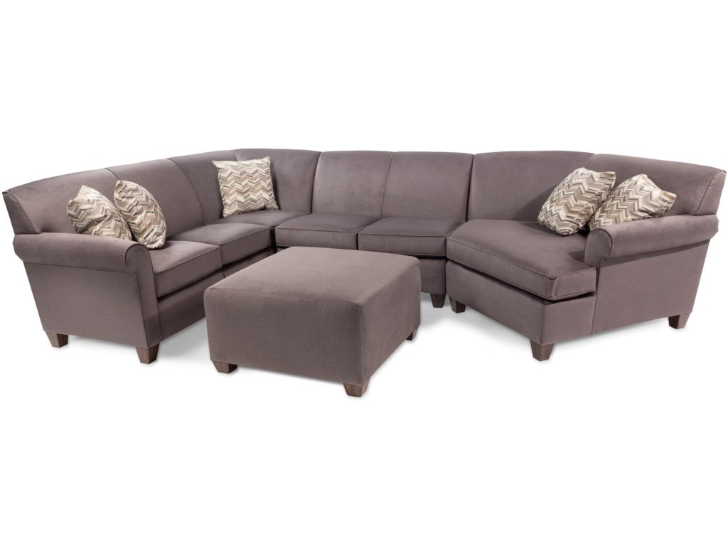 Daria 3PC Sectional Sofa